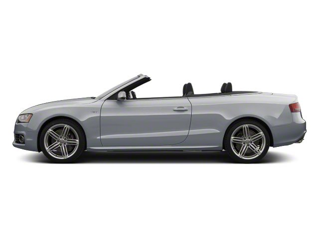 Ice Silver Metallic 2011 Audi S5 Pictures S5 Convertible 2D Quattro photos side view