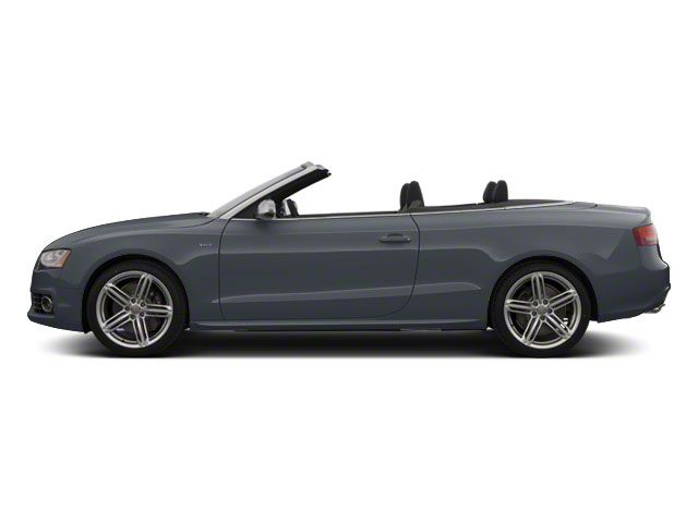 Meteor Gray Pearl 2011 Audi S5 Pictures S5 Convertible 2D Quattro photos side view