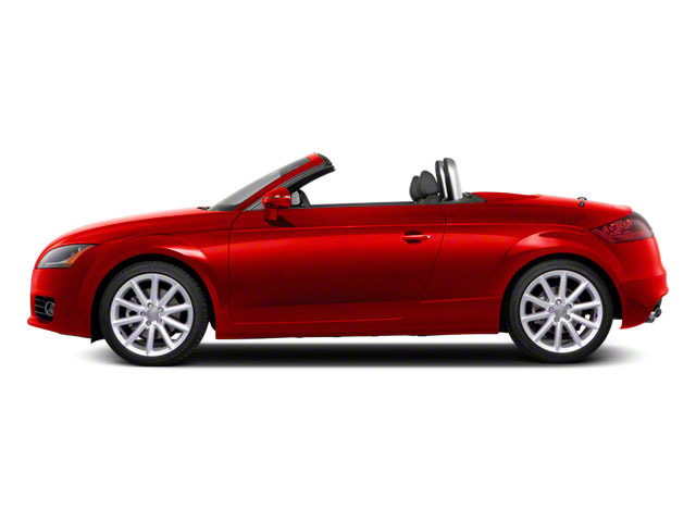 Volcano Red Metallic 2011 Audi TT Pictures TT Roadster 2D Quattro Prestige photos side view