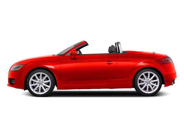 Misano Red Pearl 2011 Audi TT Pictures TT Roadster 2D Quattro Prestige photos side view