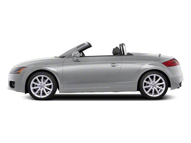 Ice Silver Metallic 2011 Audi TT Pictures TT Roadster 2D Quattro Prestige photos side view