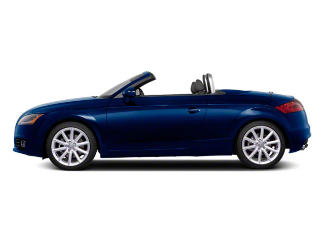 Scuba Blue Metallic 2011 Audi TT Pictures TT Roadster 2D Quattro Prestige photos side view