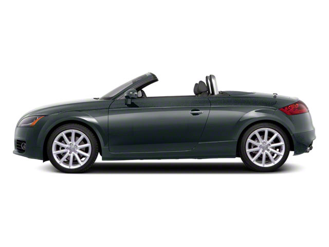 Dakota Gray Metallic 2011 Audi TT Pictures TT Roadster 2D Quattro Prestige photos side view