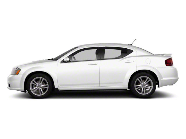Bright White 2011 Dodge Avenger Pictures Avenger Sedan 4D Mainstreet photos side view