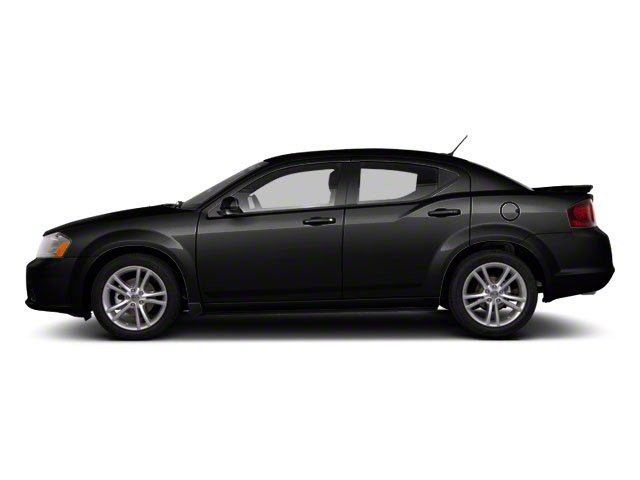 Black 2011 Dodge Avenger Pictures Avenger Sedan 4D Mainstreet photos side view