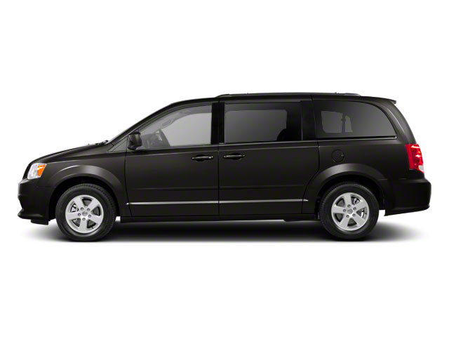 Dark Charcoal Pearl 2011 Dodge Grand Caravan Pictures Grand Caravan Grand Caravan R/T photos side view