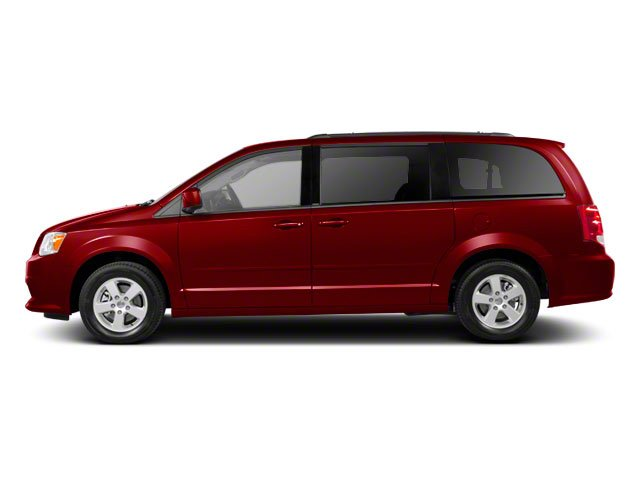 Deep Cherry Red Crystal Pearl 2011 Dodge Grand Caravan Pictures Grand Caravan Grand Caravan R/T photos side view