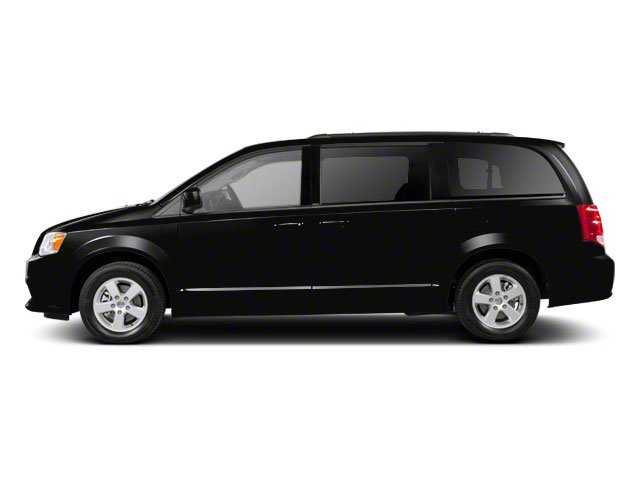 Black 2011 Dodge Grand Caravan Pictures Grand Caravan Grand Caravan Express photos side view
