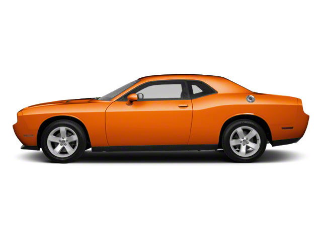Toxic Orange Pearl 2011 Dodge Challenger Pictures Challenger Coupe 2D SRT-8 photos side view