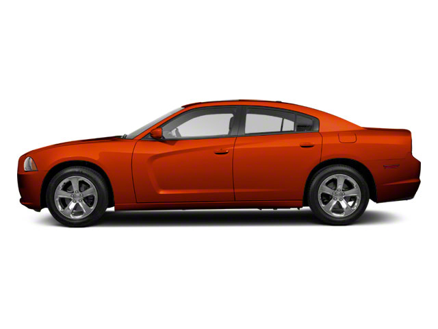 Toxic Orange Pearl 2011 Dodge Charger Pictures Charger Sedan 4D Police photos side view