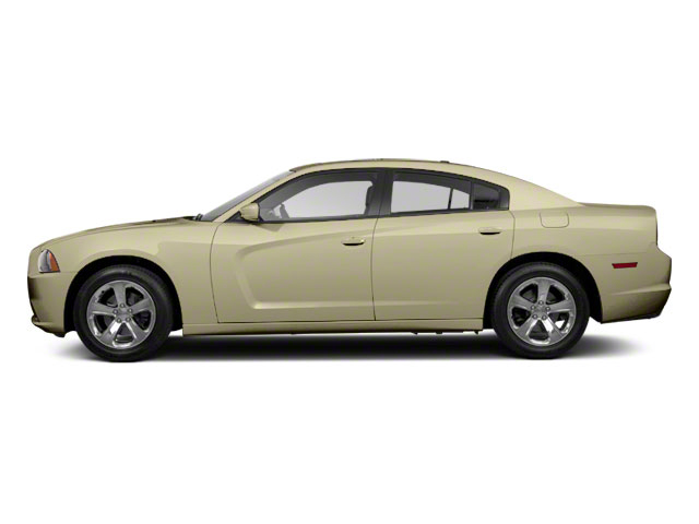 White Gold 2011 Dodge Charger Pictures Charger Sedan 4D Police photos side view