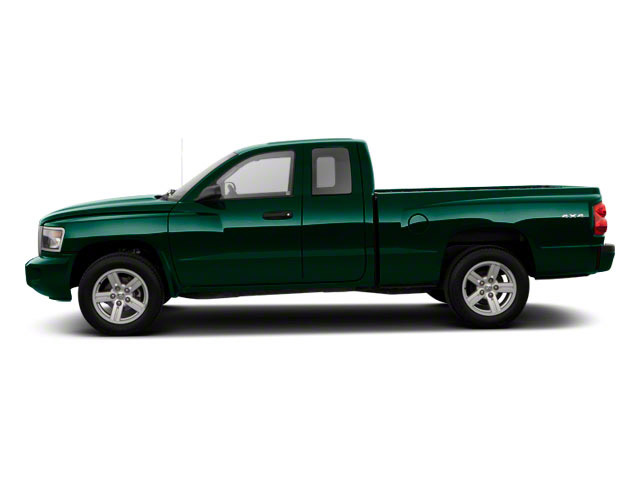 Hunter Green Pearl 2011 Ram Truck Dakota Pictures Dakota Extended Cab Bighorn/Lone Star photos side view