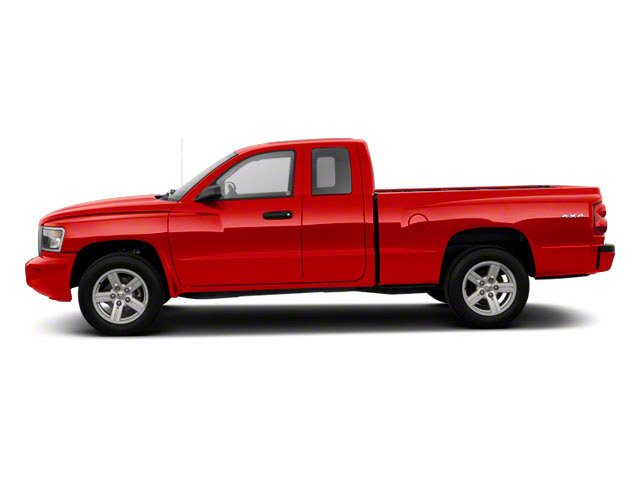 Flame Red 2011 Ram Truck Dakota Pictures Dakota Extended Cab Bighorn/Lone Star photos side view