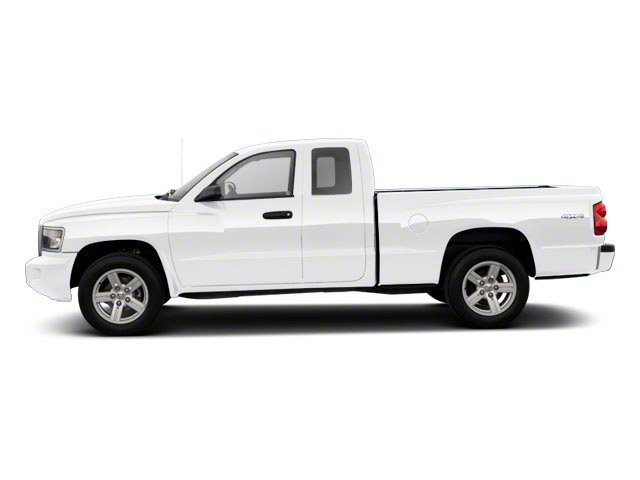 Bright White 2011 Ram Truck Dakota Pictures Dakota Extended Cab Bighorn/Lone Star photos side view