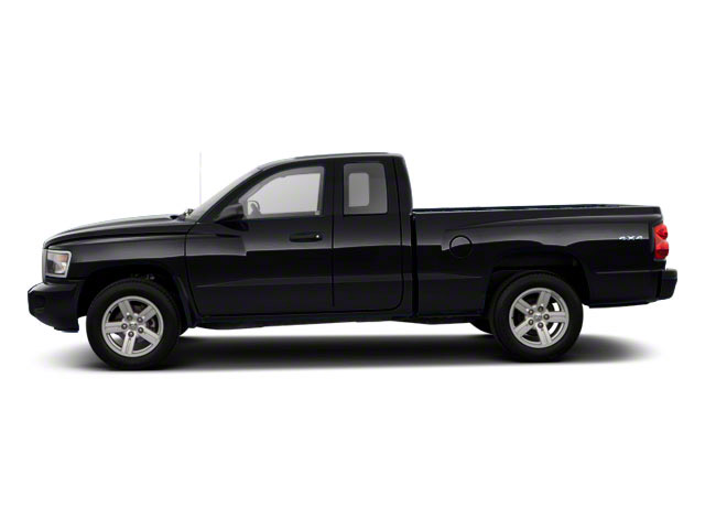 Brilliant Black Crystal Pearl 2011 Ram Truck Dakota Pictures Dakota Extended Cab Bighorn/Lone Star photos side view