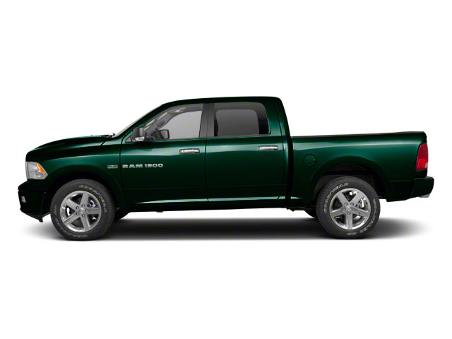 Hunter Green Pearl 2011 Ram Truck 1500 Pictures 1500 Crew Cab SLT 4WD photos side view