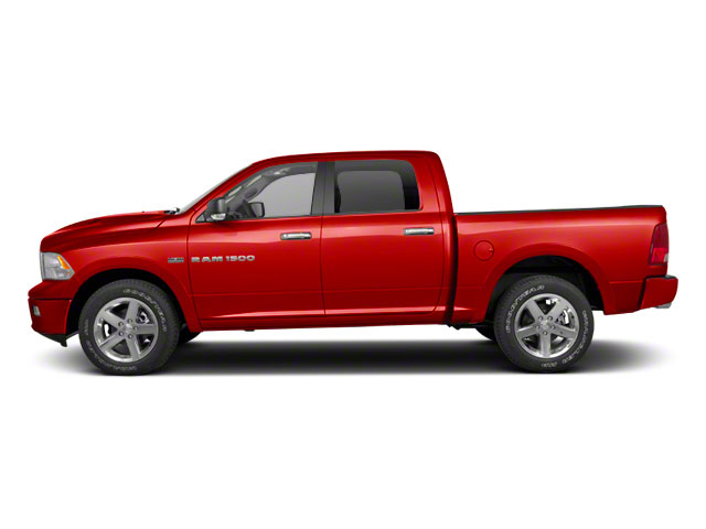 Flame Red 2011 Ram Truck 1500 Pictures 1500 Crew Cab SLT 4WD photos side view