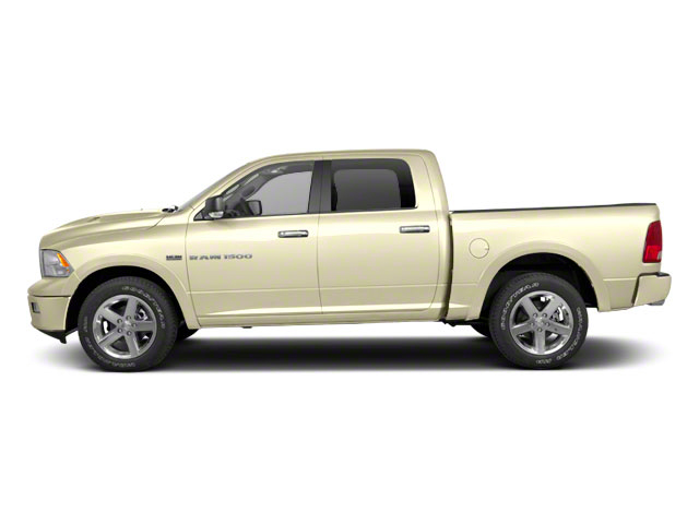 White Gold 2011 Ram Truck 1500 Pictures 1500 Crew Cab SLT 2WD photos side view
