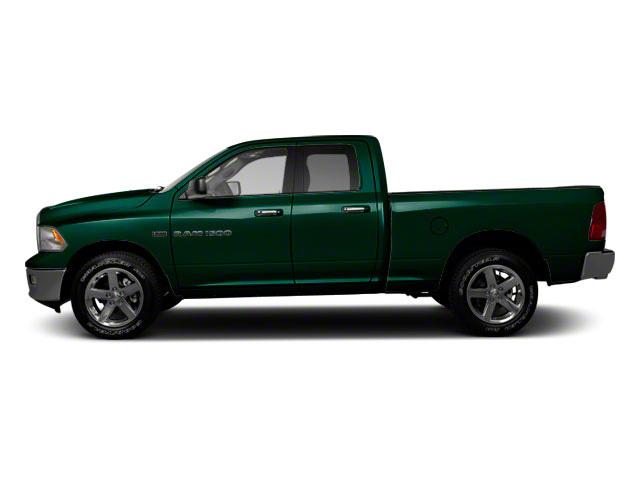 Hunter Green Pearl 2011 Ram Truck 1500 Pictures 1500 Quad Cab Outdoorsman 2WD photos side view