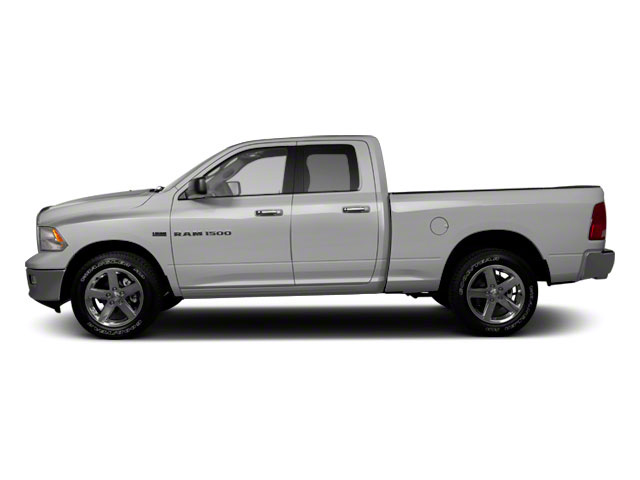 Bright Silver Metallic 2011 Ram Truck 1500 Pictures 1500 Quad Cab SLT 4WD photos side view