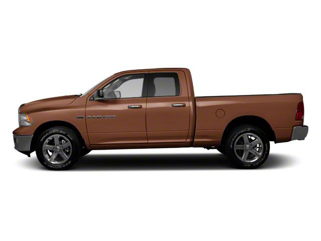 Saddle Brown Pearl 2011 Ram Truck 1500 Pictures 1500 Quad Cab SLT 4WD photos side view