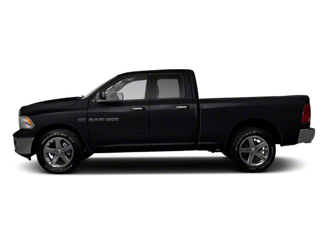 Brilliant Black Crystal Pearl 2011 Ram Truck 1500 Pictures 1500 Quad Cab SLT 4WD photos side view