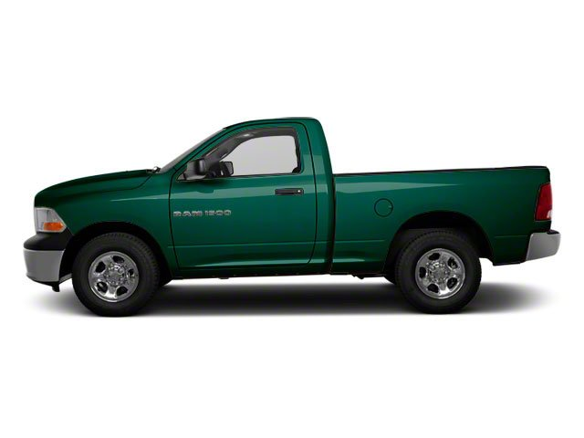 Hunter Green Pearl 2011 Ram Truck 1500 Pictures 1500 Regular Cab Outdoorsman 4WD photos side view