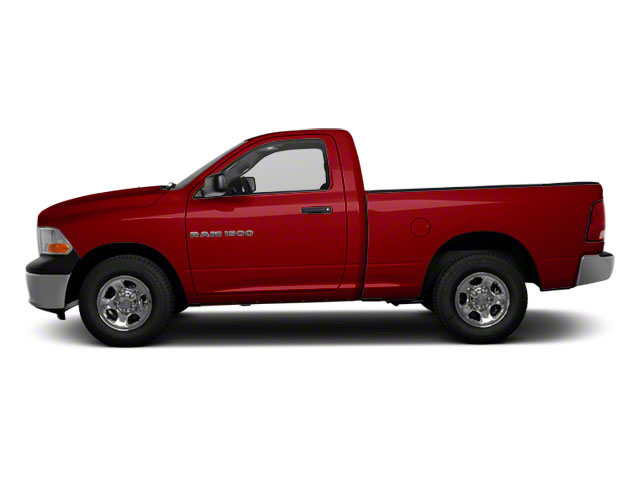 Deep Cherry Red Crystal Pearl 2011 Ram Truck 1500 Pictures 1500 Regular Cab Outdoorsman 4WD photos side view