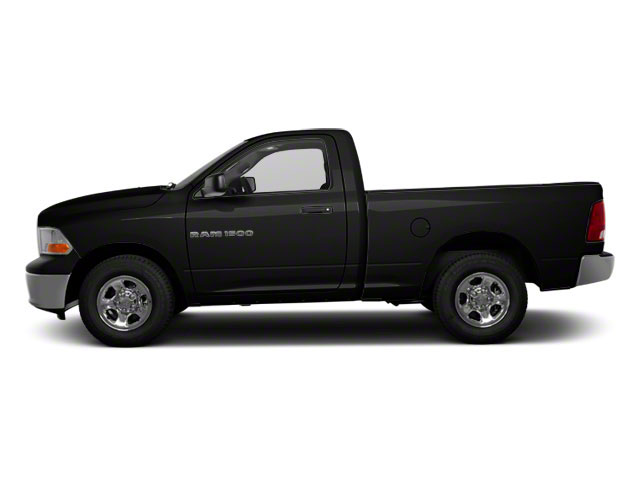 Brilliant Black Crystal Pearl 2011 Ram Truck 1500 Pictures 1500 Regular Cab Outdoorsman 4WD photos side view