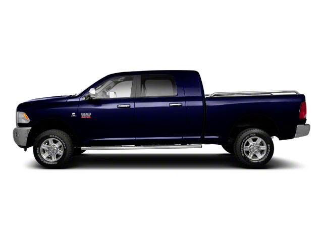 Midnight Blue Pearl 2011 Ram Truck 2500 Pictures 2500 Mega Cab Laramie 4WD photos side view