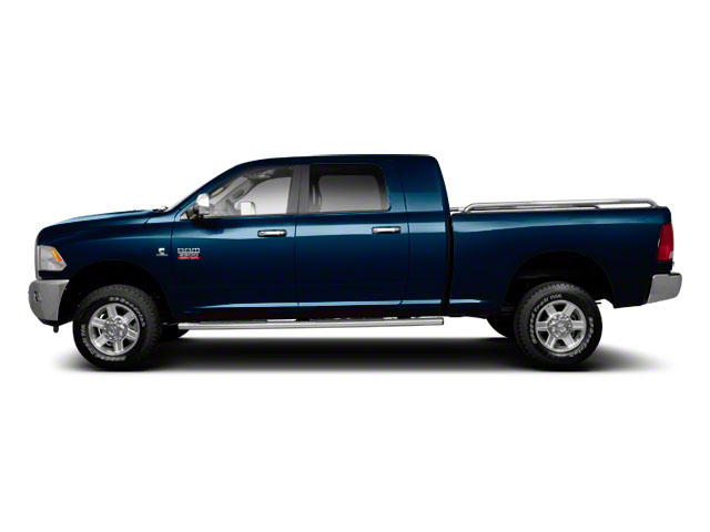Deep Water Blue Pearl 2011 Ram Truck 2500 Pictures 2500 Mega Cab Laramie 4WD photos side view