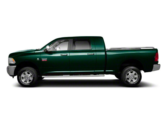 Hunter Green Pearl 2011 Ram Truck 2500 Pictures 2500 Mega Cab Laramie 4WD photos side view