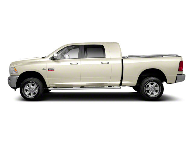 White Gold 2011 Ram Truck 2500 Pictures 2500 Mega Cab Laramie 4WD photos side view
