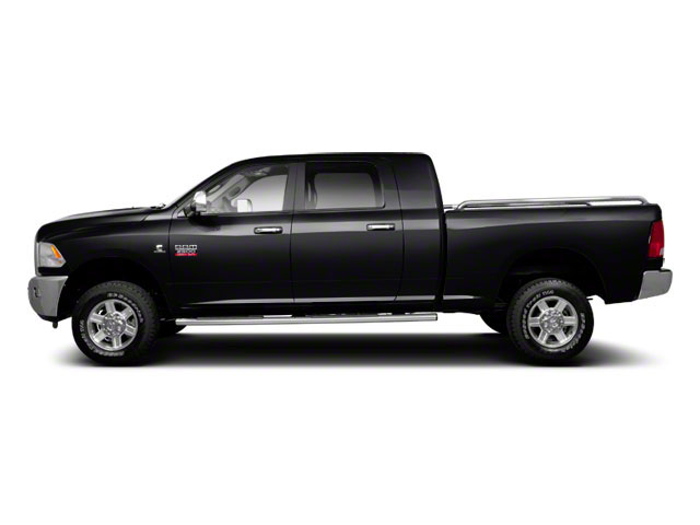 Brilliant Black Crystal Pearl 2011 Ram Truck 2500 Pictures 2500 Mega Cab Longhorn 4WD photos side view