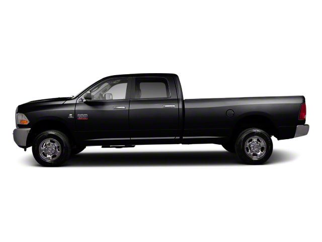 Brilliant Black Crystal Pearl 2011 Ram Truck 2500 Pictures 2500 Crew Cab Longhorn 4WD photos side view