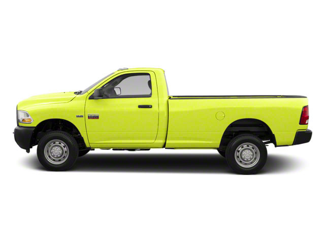 National Fire Safety Lime Yellow 2011 Ram Truck 2500 Pictures 2500 Regular Cab ST 4WD photos side view