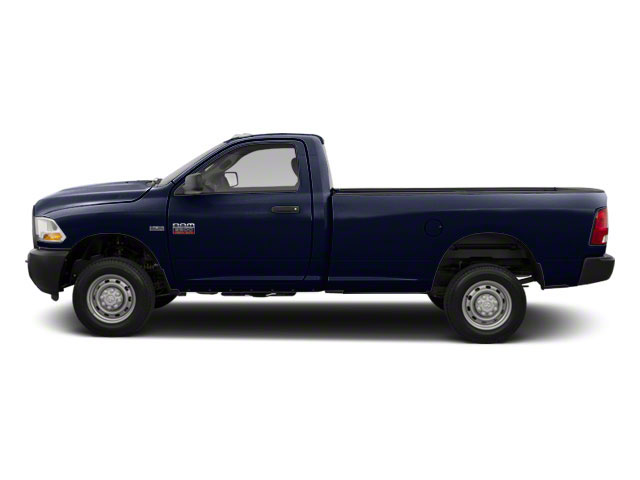 Midnight Blue Pearl 2011 Ram Truck 2500 Pictures 2500 Regular Cab ST 4WD photos side view