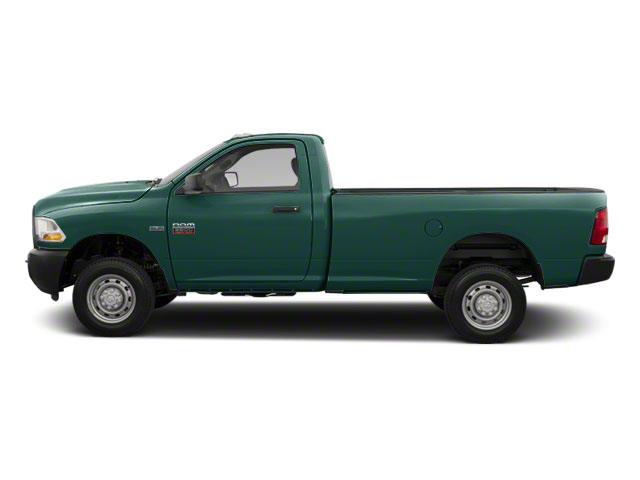 Light Green 2011 Ram Truck 2500 Pictures 2500 Regular Cab ST 4WD photos side view