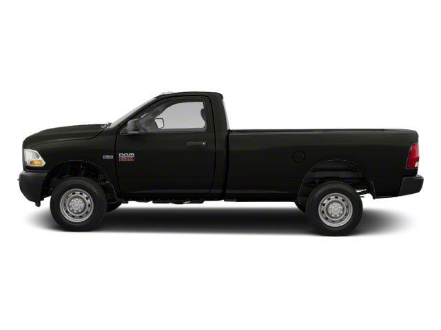 Brilliant Black Crystal Pearl 2011 Ram Truck 2500 Pictures 2500 Regular Cab Outdoorsman 2WD photos side view