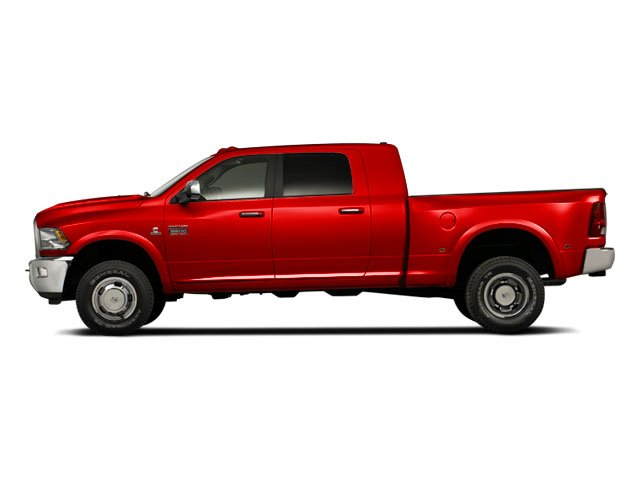 Bright Red 2011 Ram Truck 3500 Pictures 3500 Mega Cab SLT 2WD photos side view