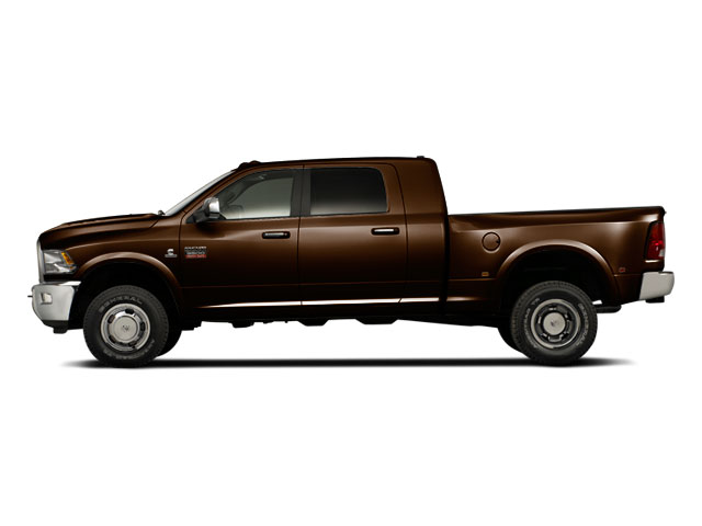 Dark Brown 2011 Ram Truck 3500 Pictures 3500 Mega Cab SLT 2WD photos side view