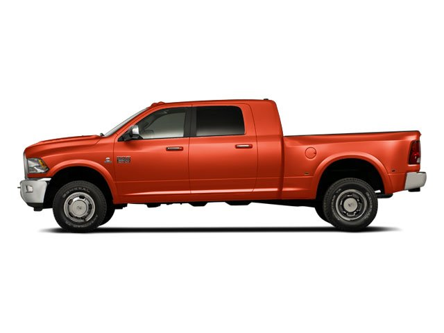 Omaha Orange 2011 Ram Truck 3500 Pictures 3500 Mega Cab SLT 2WD photos side view