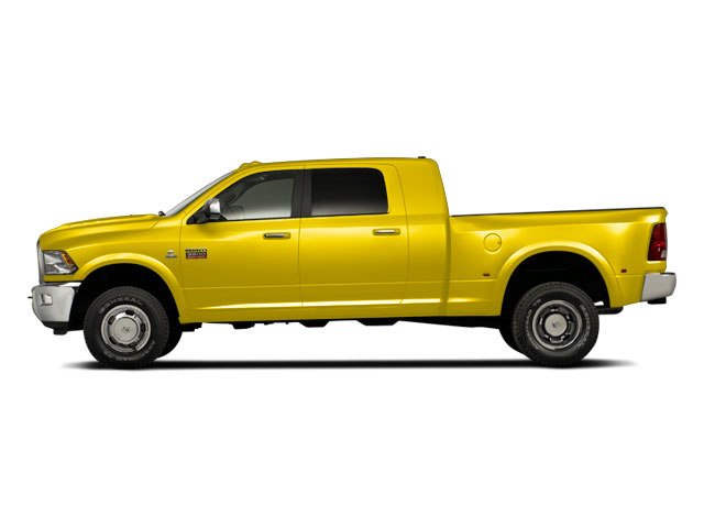 Yellow 2011 Ram Truck 3500 Pictures 3500 Mega Cab SLT 2WD photos side view