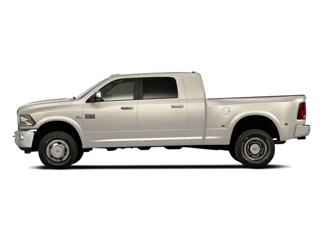 Light Cream 2011 Ram Truck 3500 Pictures 3500 Mega Cab SLT 2WD photos side view