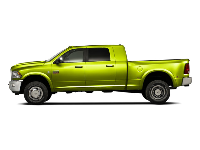 National Fire Safety Lime Yellow 2011 Ram Truck 3500 Pictures 3500 Mega Cab SLT 2WD photos side view