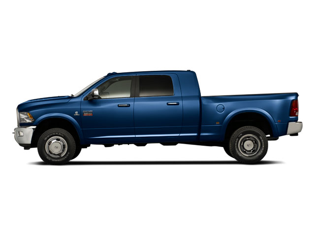Deep Water Blue Pearl 2011 Ram Truck 3500 Pictures 3500 Mega Cab SLT 2WD photos side view