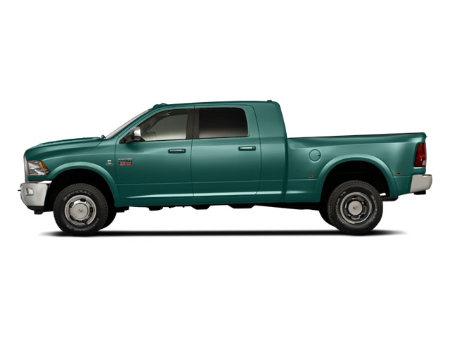 Light Green 2011 Ram Truck 3500 Pictures 3500 Mega Cab SLT 2WD photos side view
