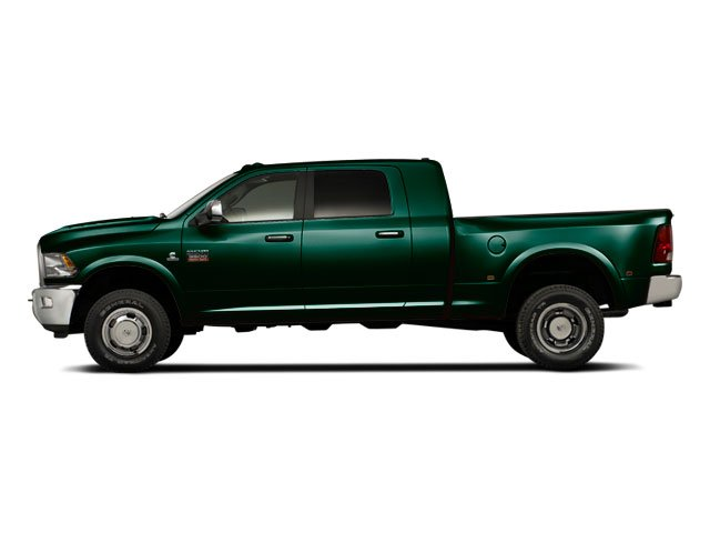 Hunter Green Pearl 2011 Ram Truck 3500 Pictures 3500 Mega Cab SLT 2WD photos side view