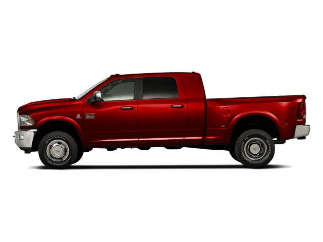 Flame Red 2011 Ram Truck 3500 Pictures 3500 Mega Cab SLT 2WD photos side view