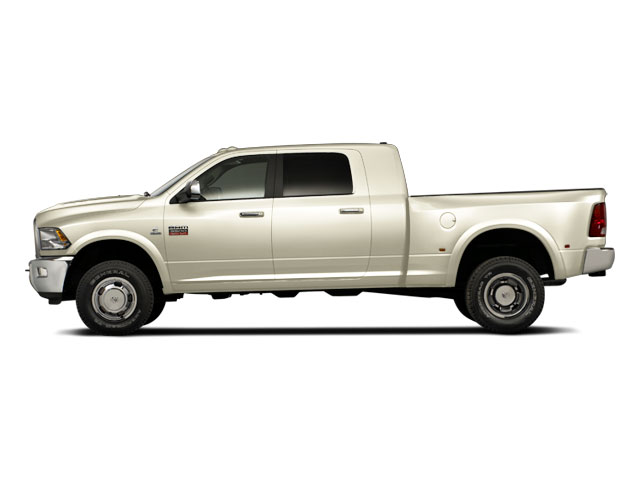 White Gold 2011 Ram Truck 3500 Pictures 3500 Mega Cab SLT 2WD photos side view